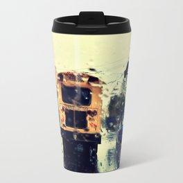 frisco kid // yellow bus Travel Mug