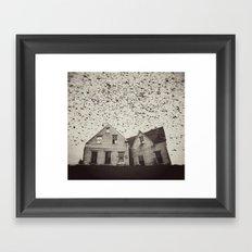 Home of Murmuration Framed Art Print