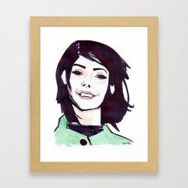 Smiler Framed Art Print