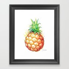 Fat Pineapple 1 Framed Art Print