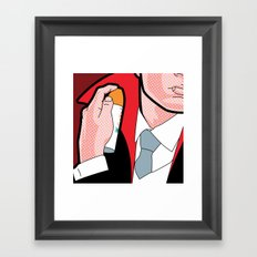 The Secret Life of Heroes - Mosquito Repellent Framed Art Print