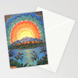 Vision at Sunset Stationery Cards