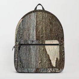 Eucalyptus Tree Bark and Wood Abstract Natural Texture 31 Backpack