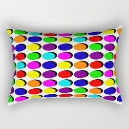 Pick A Colour, Push A Button Rectangular Pillow