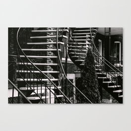 Chutes and Ladders Canvas Print