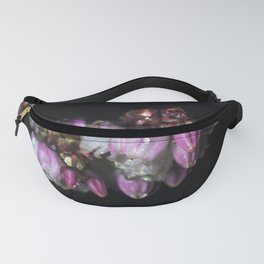 Blueberry blossom rain drops Fanny Pack