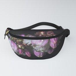 Blueberry blossom rain drops Fanny Pack