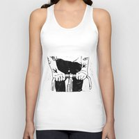 grease Tank Tops featuring Ink & Grease by lucciole