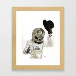 Clockwork Calavera Framed Art Print