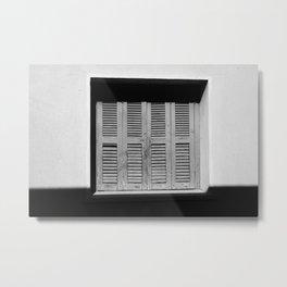 Shutters Metal Print