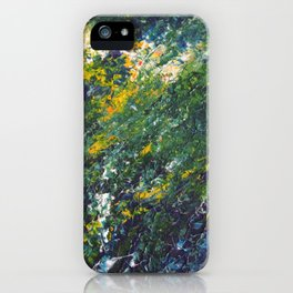 Abstract spring iPhone Case