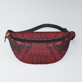 Red Hour Glass Fanny Pack