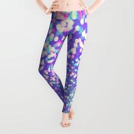 Colorful Mermaid Lights Leggings