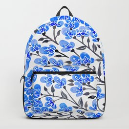 Cherry Blossoms – Blue Palette Backpack
