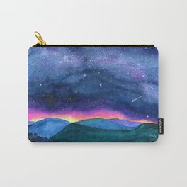 Good Night Smoky Mountains Carry-All Pouch