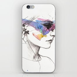 Woman With A New Vision iPhone Skin