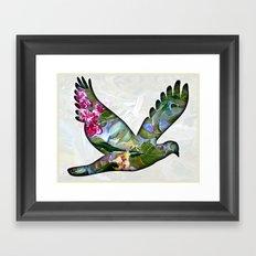 Peace for Peace Framed Art Print