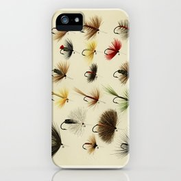 Hackles from Favorite Flies and Their Histories by Mary Orvis Marbury iPhone Case