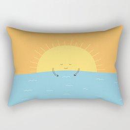 good morning sunshine! Rectangular Pillow