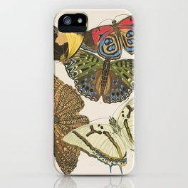 Butterfly Print by E.A. Seguy, 1925 #3 iPhone Case