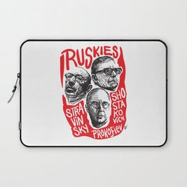 Ruskies-Russian composers Laptop Sleeve