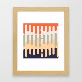 Paint dripping background #society6 #decor #buyart #artprint Framed Art Print