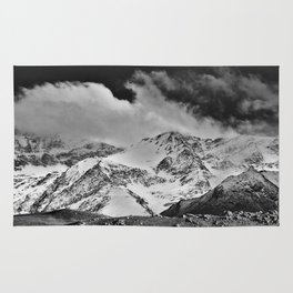 """""""Wild mountains"""". Wilderness. Into the storm Rug"""