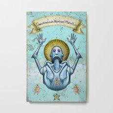Most Holy Robot Metal Print