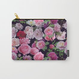 Floral pattern 21 Carry-All Pouch