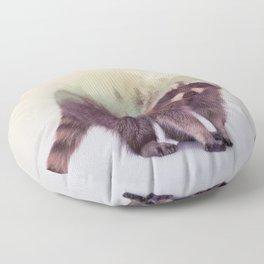Little Ones: Raccoon Floor Pillow