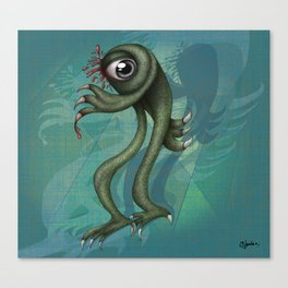 Monster is back  Canvas Print