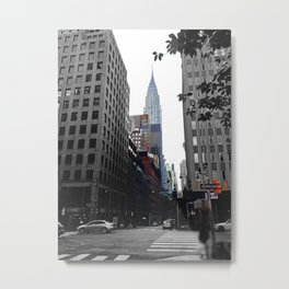 Weekend vibes in New York City - Empire State Building Metal Print