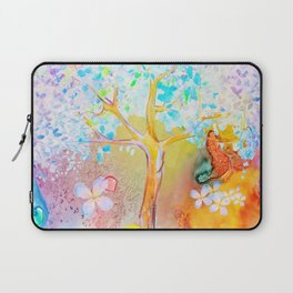 Tree of life painting Laptop Sleeve