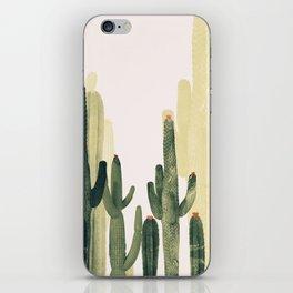 Green Cactus 4 iPhone Skin