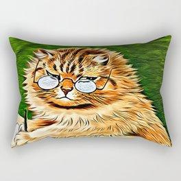 ORANGE TABBY CAT - Louis Wain's Cats Rectangular Pillow