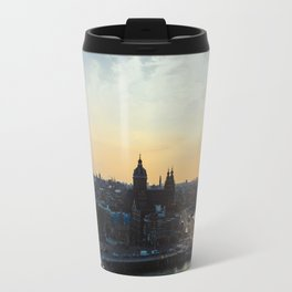 Amsterdam at Sunset Travel Mug