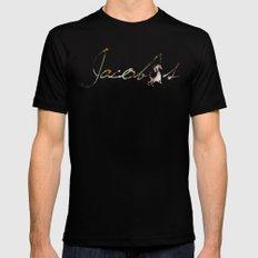 Jacob's agency Paris Black MEDIUM Mens Fitted Tee
