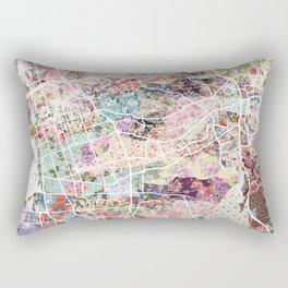 Chula Vista map Rectangular Pillow