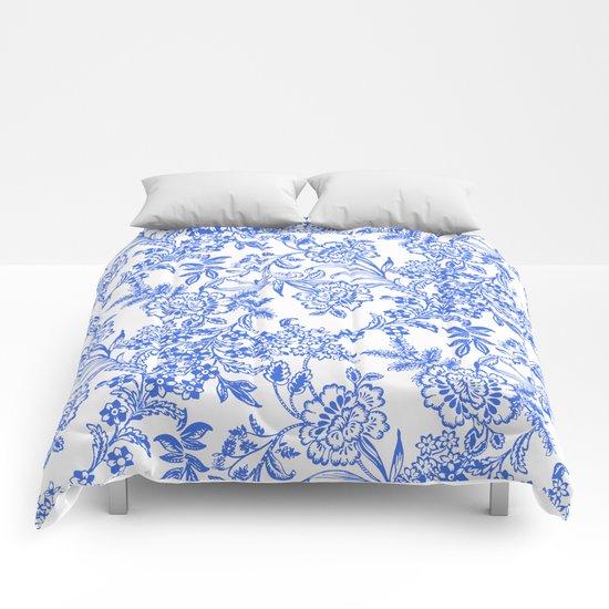 Tea Time Reversed Comforters