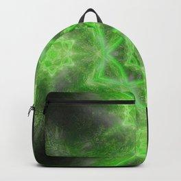 Emerald Star Mandala Backpack