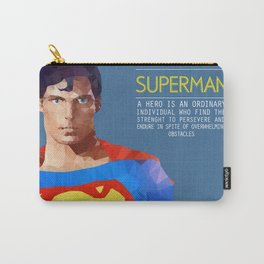 PolyHero Superman  Carry-All Pouch