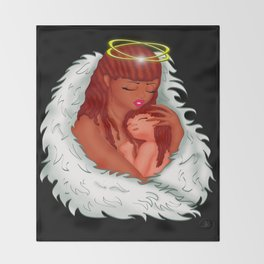 Angel's Love Throw Blanket