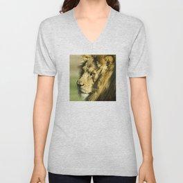 Royal and Regal Lion Unisex V-Neck