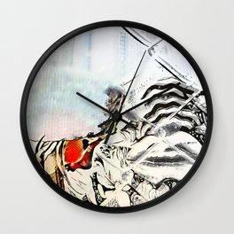 Burn Barrel Wall Clock