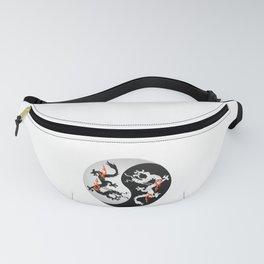 Dragon Yin Yang Chinese Dragon Artistic Design Fanny Pack