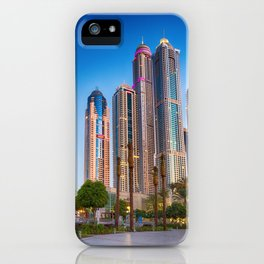 Lights, steel and glass iPhone Case