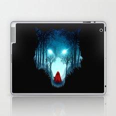 Big Bad Wolf (dark version) Laptop & iPad Skin
