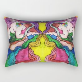 dama naturaleza /lady nature/ Rectangular Pillow