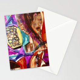 Red People No 1 Stationery Cards