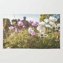 Flower house garden Rug